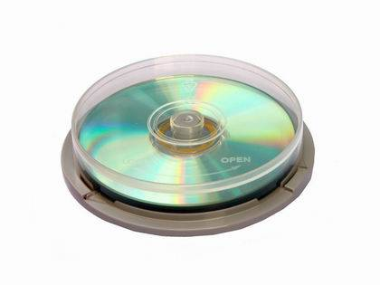 Cake box for 10 Disks
