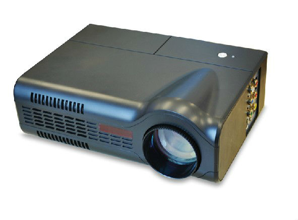 Hot Sale 1500 Lumens Mini LED Portable Projector 3D home theater support HDMI