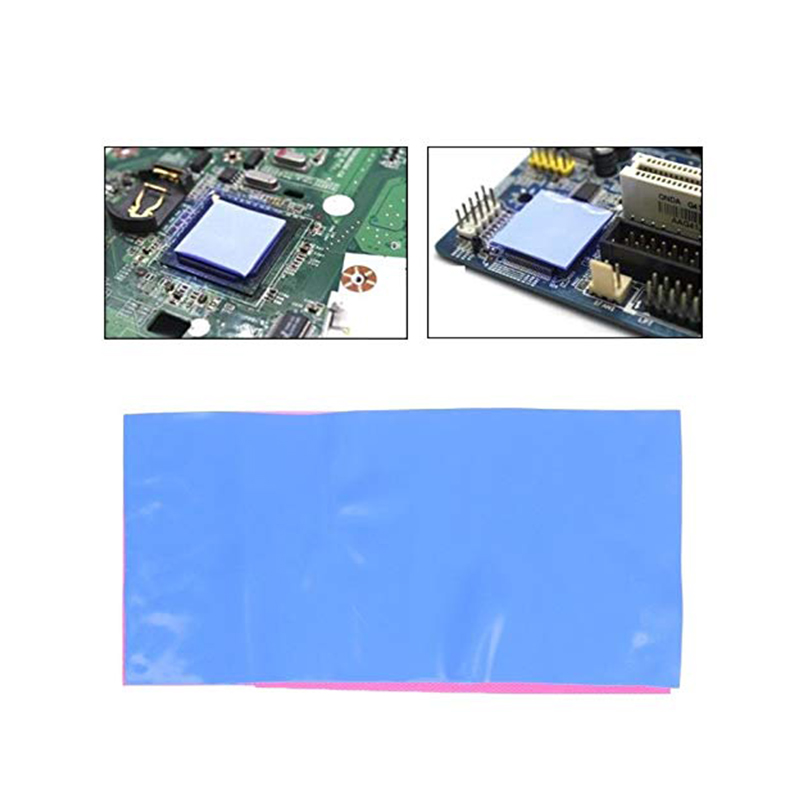 Blue Good Insulation Thermal Pad For CPU