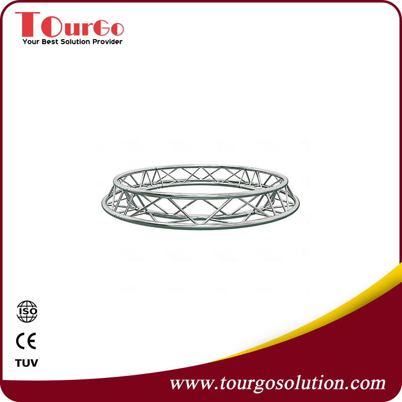 Diameter 4.0m Square Circle Truss with TUV certificate