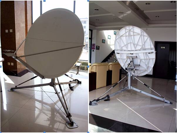 1.2M FLYAWAY OFFSET-FEED ANTENNA(FIBER GLASS)