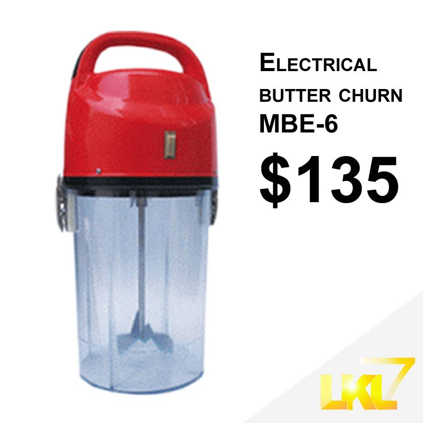 Electrical butter churn MBE-6