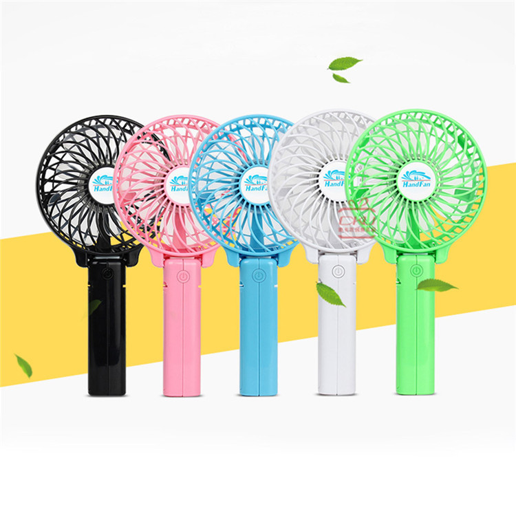 Rechargeable mini portable usb handy fan with strong wind