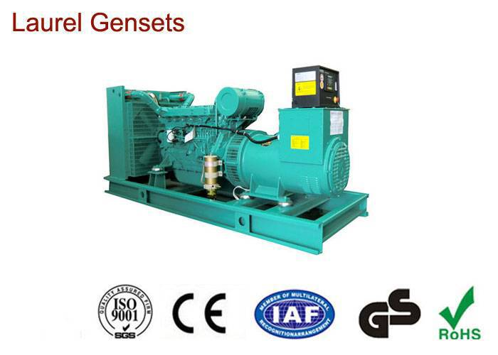 50Hz AC Open Diesel Generator , 200kW - 300kW are available