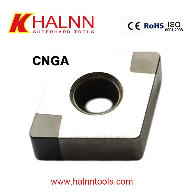 Halnn CBN inserts hard turning high hardness hardened steel