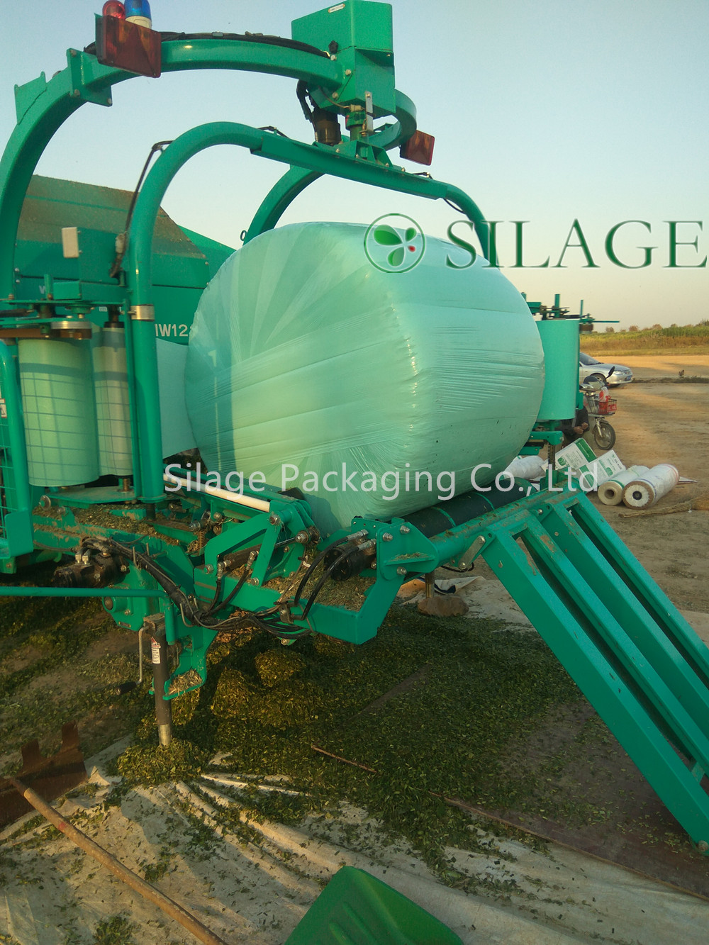 Blown Baler Equip Silage Packaging Wrapping Film