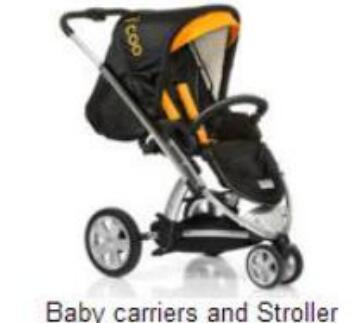 MTSON plastic mold for baby stroller 05