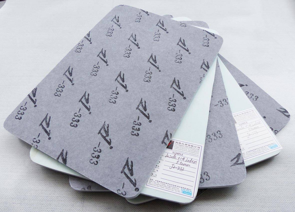 JZ333 Nonwoven Insole Coated With 1# Latex