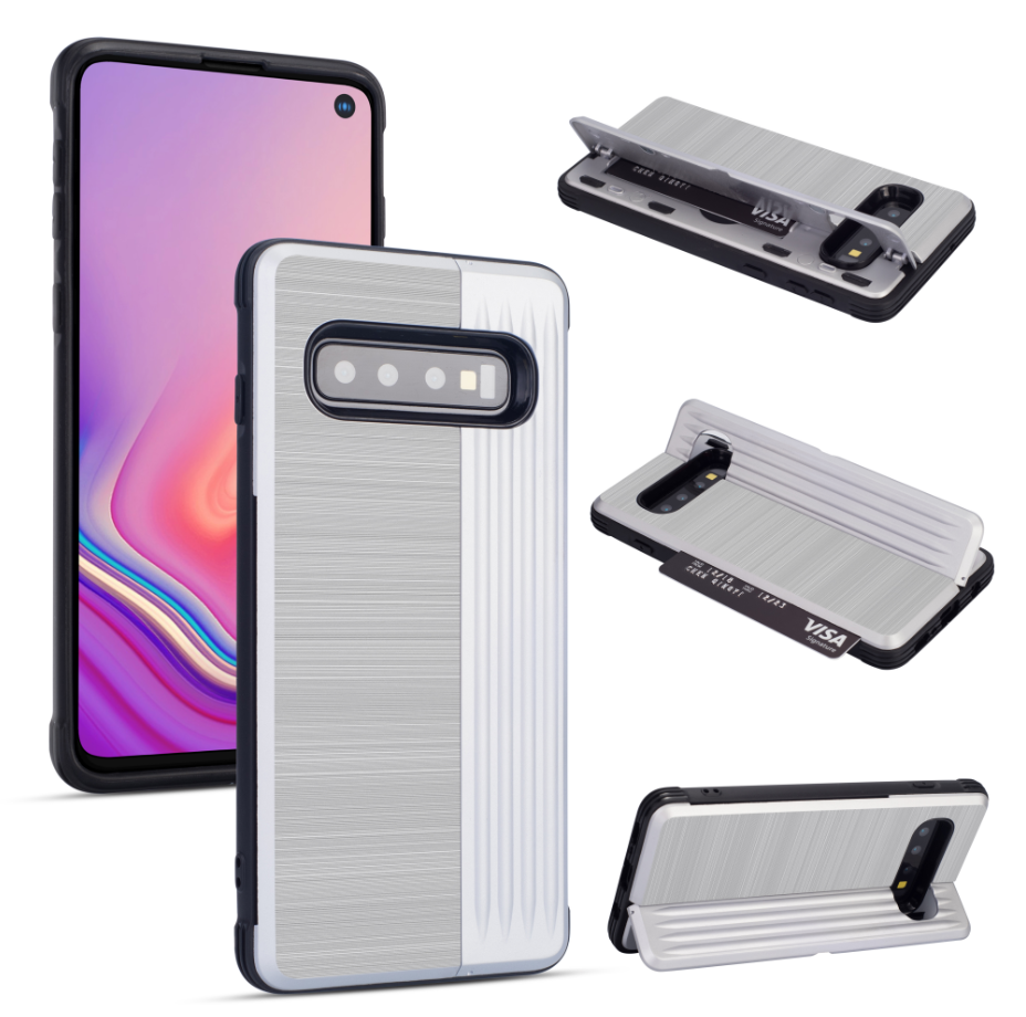 Card slot shockproof Phone Cover for S10 E
