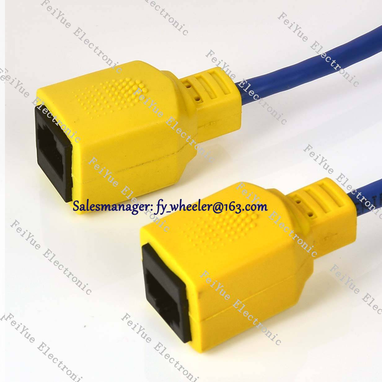 Unshield Network RJ45 extension cable Female to Female Cat6 UTP twisted Pair ethernet cable