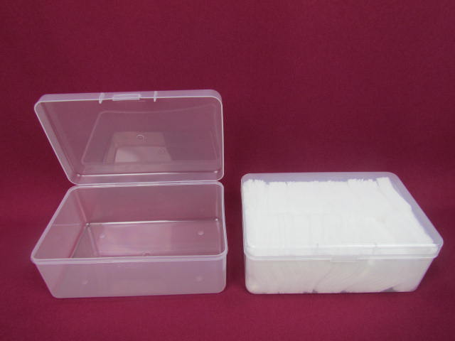 Eco-friendly Cotton Swab Holder Cosmetic Cotton Pads Storage Box