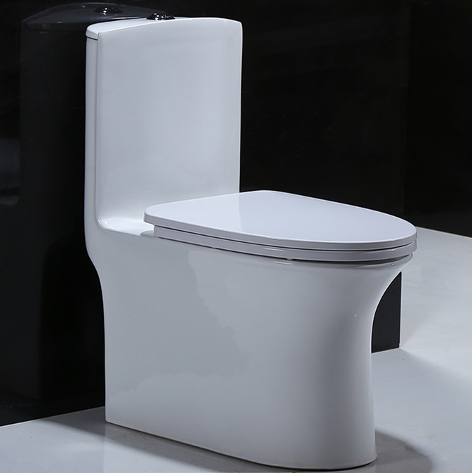 Bathroom sanitary ware siphonic one piece toilet