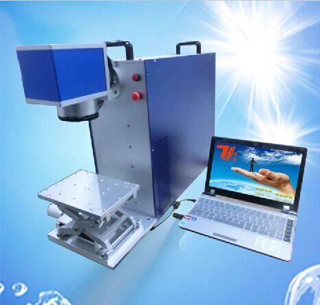 Desktop/portable 20w fiber laser marking machine for sale