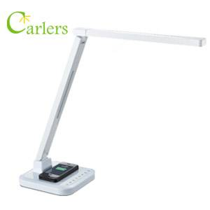 60mins Timer Auto Switch-off Smart LED Desk Lamp with QI Wireless Charging