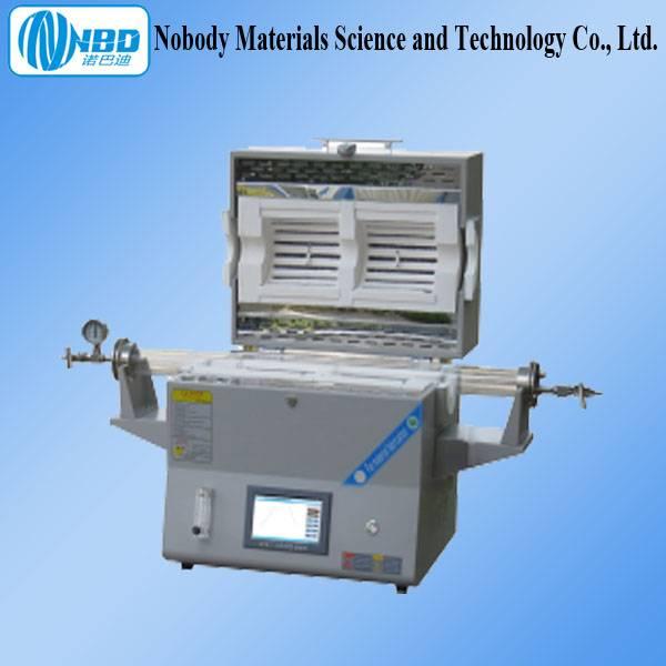 CE Smart Open Dual Temperature Zone Labs Tube Furnace