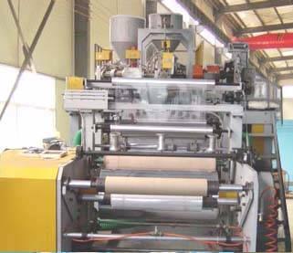 FD-BMC1200-2 Two-layer Co-extrusion Self-stick stretch Casting Film making Machine