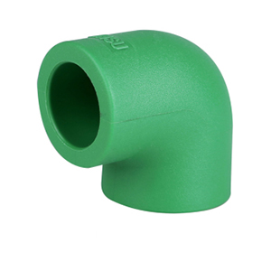 90° Elbow 90° Ppr Pipe Fittings Elbow Size 20 - 160mm No Heavy Metal Additives Oem Service