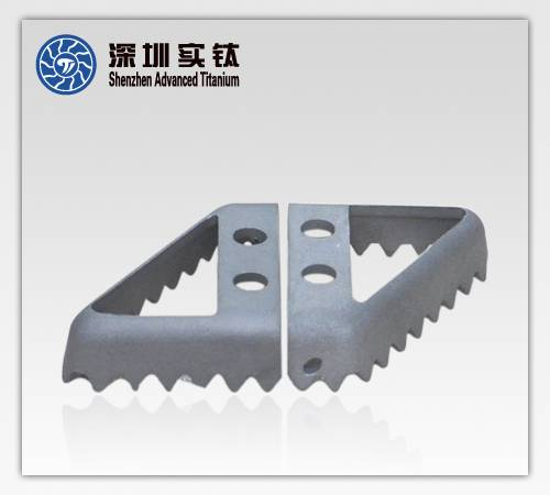 titanium alloy oil inlet teeth for engine parts