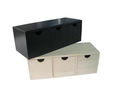 Small Wooden Tea Storage Box
