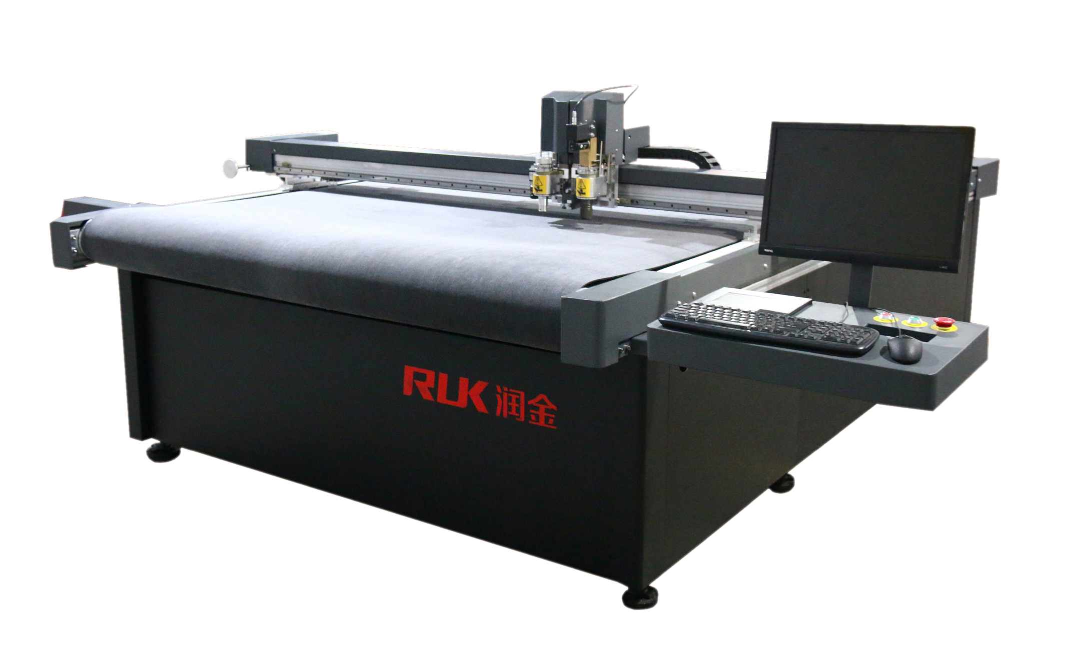 die flatbed digital cutting plotter cutter foam board cutter