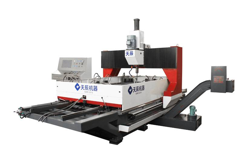 CNC Gantry Moveable Plate Drilling Machine