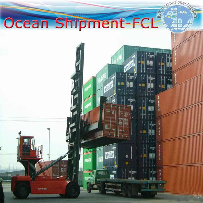 International Sea shipping as FCL from China to TANGIER