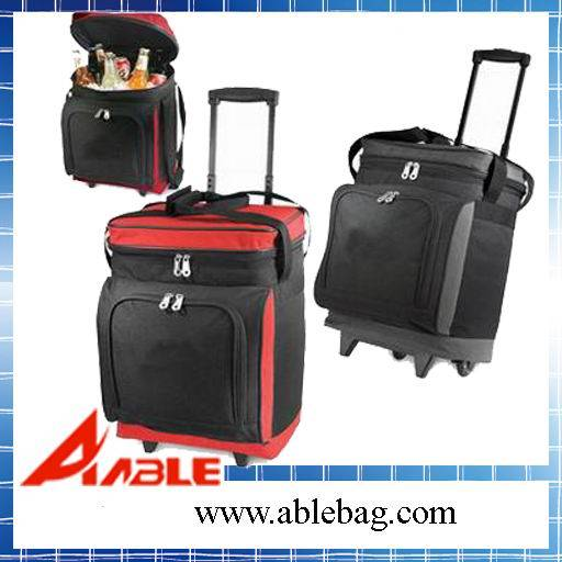 Cooler bag with trolley wheels JBC-17
