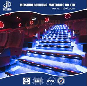Anodising theater step corner led aluminium eding strip china supplier