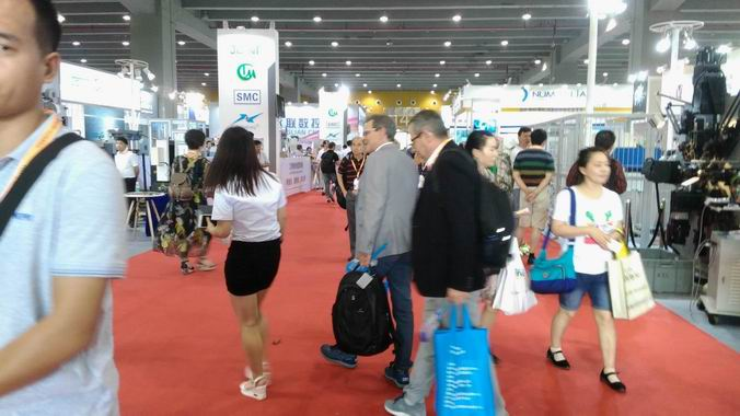 The 19th China (Guangzhou) Int'l Stainless Steel Industry Exhibition booth