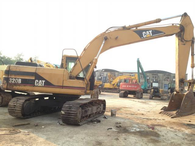 Used Cat 320B Excavator Caterpillar 320B Digger