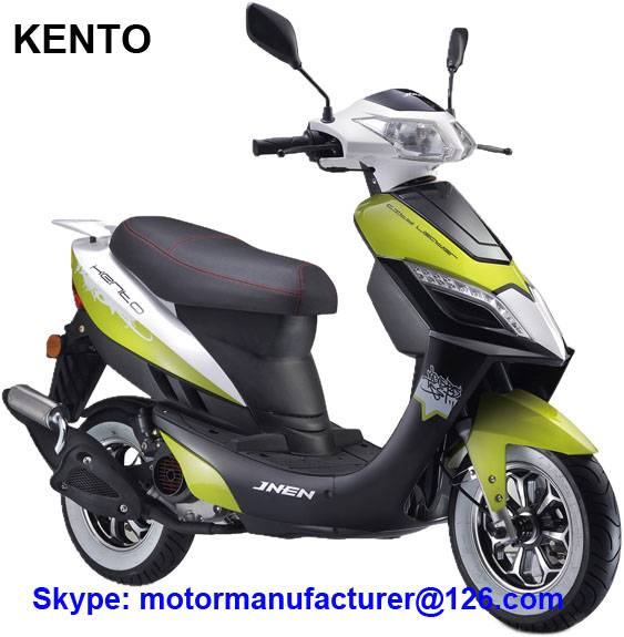 KENTO Scooter JNEN motor Patent design 2016 fashion model gasoline scooter 50CC CDI/EFI EEC/EPA