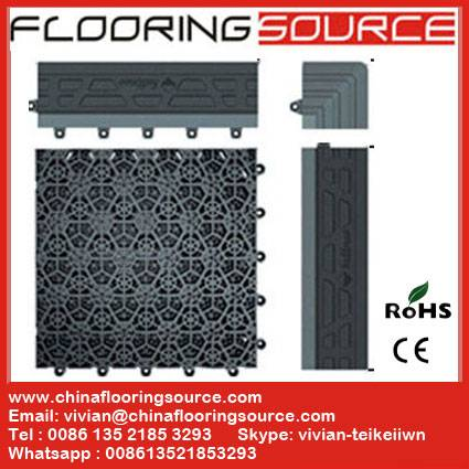 Interlocking PVC Tile Entrance Floor Mat