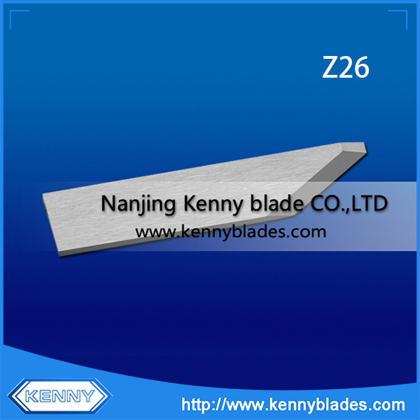 Tungsten Carbide ZUND Z26 Cutter Blade For Leather Textile Industry