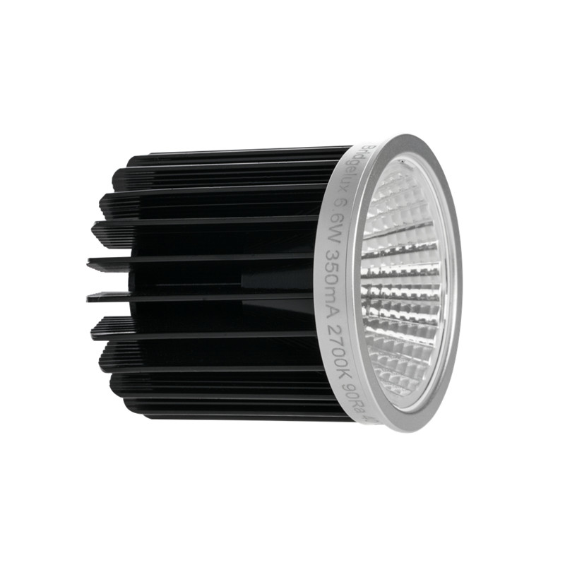 Super bright 6.2w 3000k CRI90 led bridgelux cob downlight mr16 led module