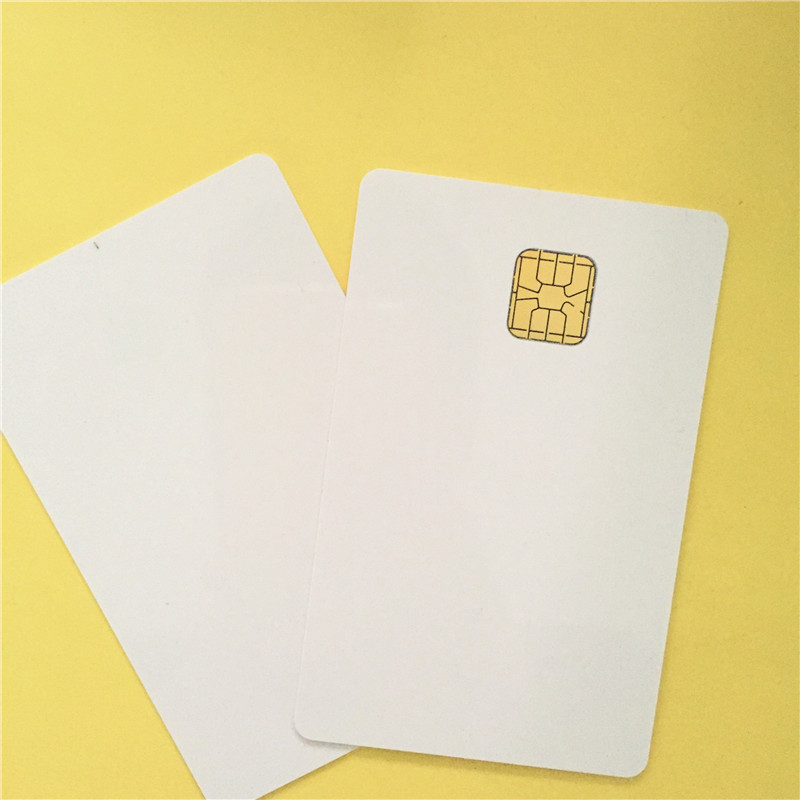 PVC blank card sle4428 chip Printable by Zebra Fargo