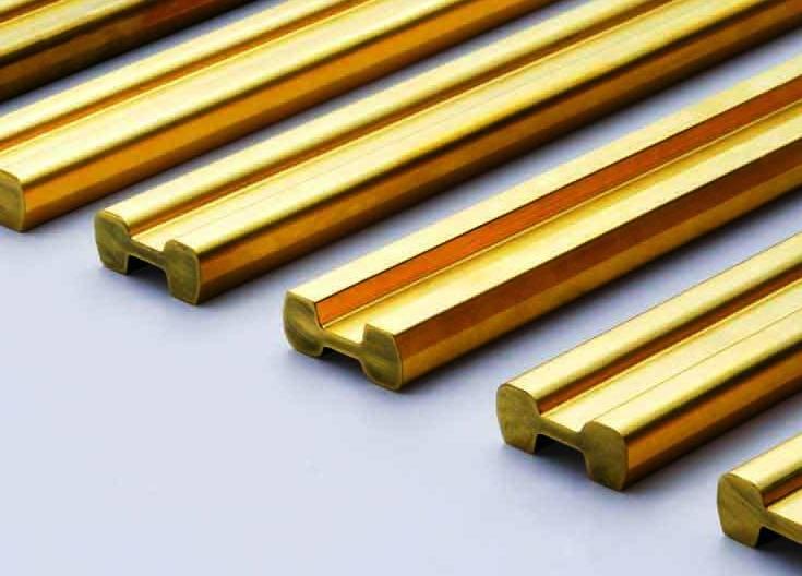Fast Cutting Brass Bar/Rod/Tube C3604 CNC turning part