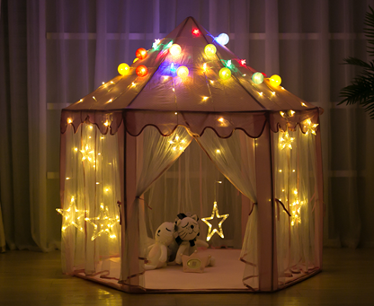 Sequins Princess Tent