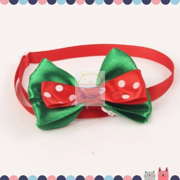 Decorative Pet Collar with Bowknot ,kinds of Pet Bowknot collar 03