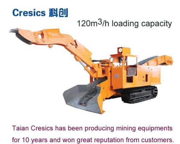 120CBM/H hydraulic crawler mining backhoe loader