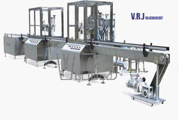 VRJ-AAF Aerosol Filling Machine