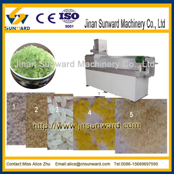 Artificial rice processing line / nutritious rice machine