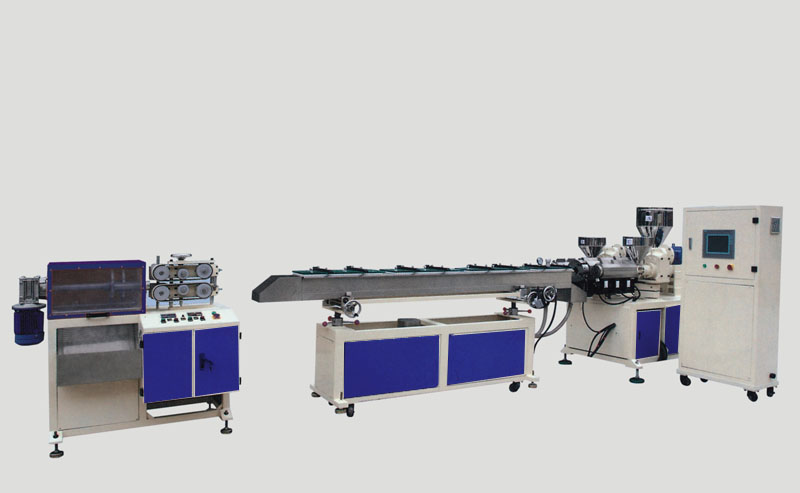 CE certification candy stick compound extruder best-selling small diameter pe pipe extrusion line