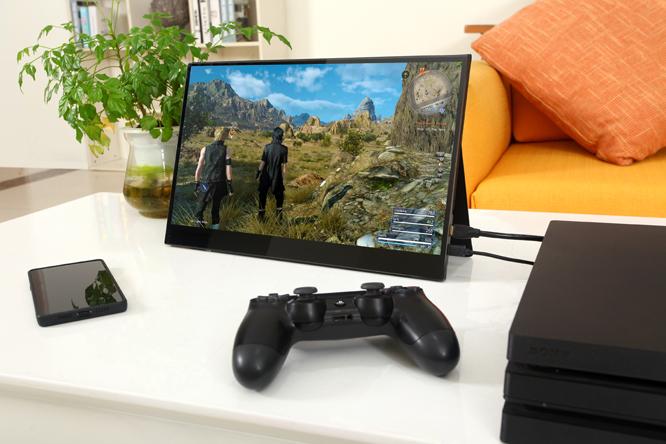 [U15HT] 4K Super Slim Portable Monitor