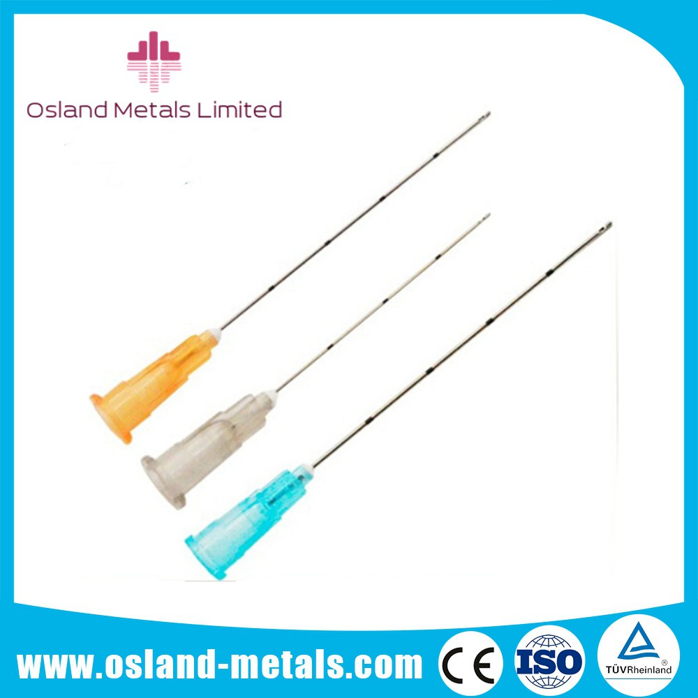 High Qaulity Beauty Comestic Blunt Tip Micro Cannula Needle for Fillerswith Competitive Price