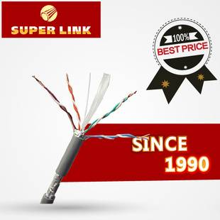 network cable  CAT6 SFTP/4*2*0.57 OFC/96*0.12shield braid