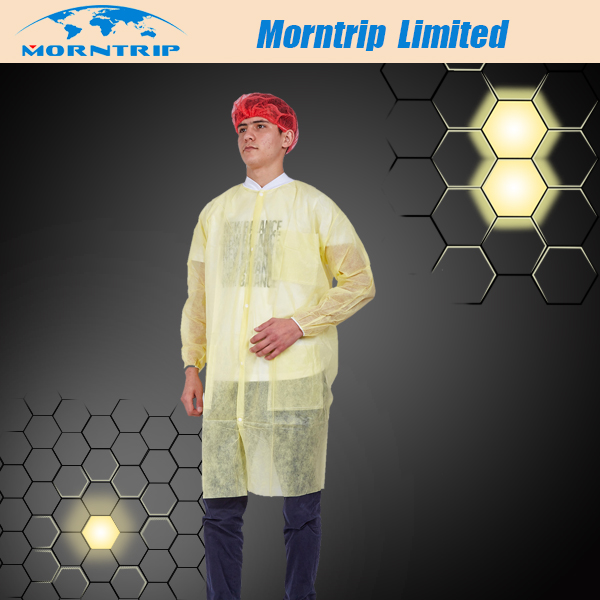 Factory Wholesale Nonwoven Disposable Lab Coat for Children