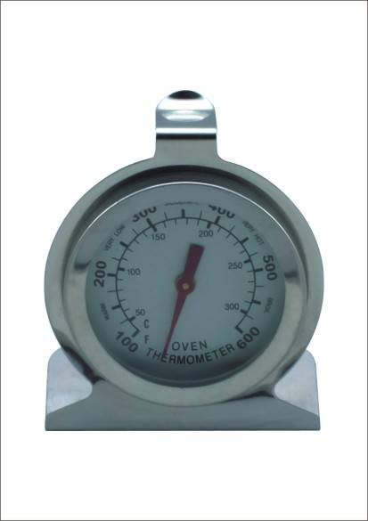 economy bimetal pizza oven temperature gauge steel oven thermometer