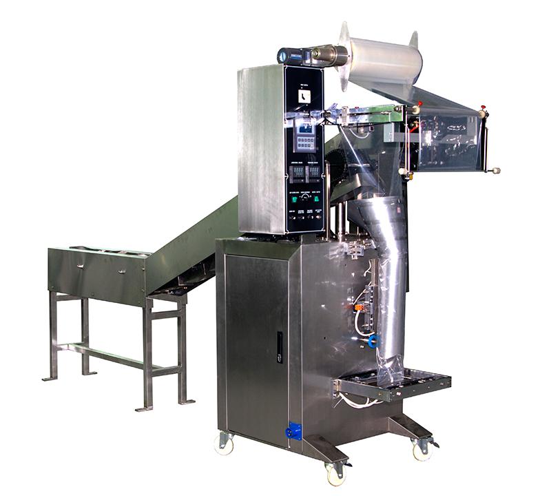 Semi automatic granule packaging machine for irregular shape material