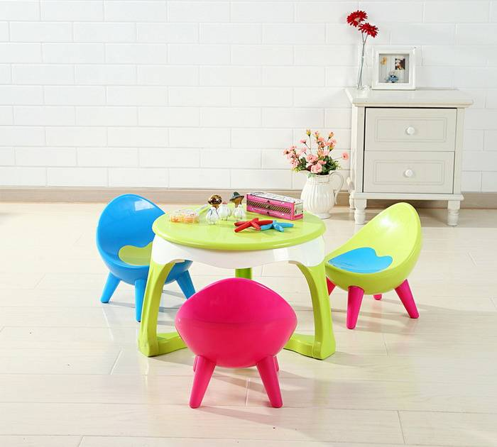 plastic child table baby dining-table children Learning Table