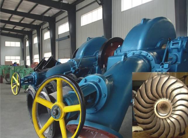 Pelton hydro turbine